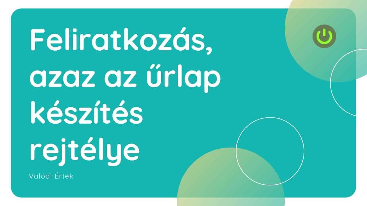feliratkozas_urlap_keszites