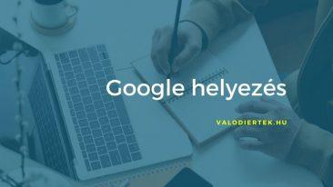 google helyezés főkép